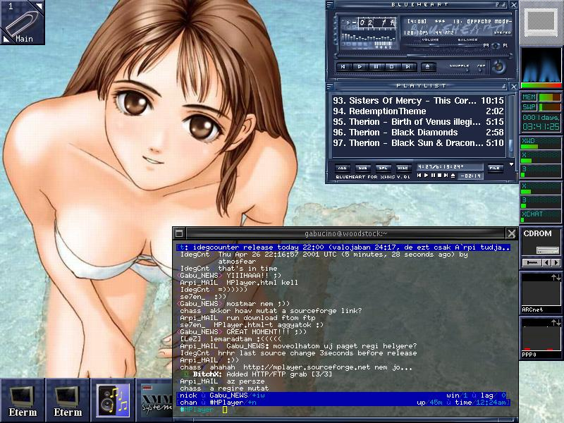 MPlayer screenshot
